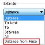 Loại bộ các bước với tính năng Distance From Face