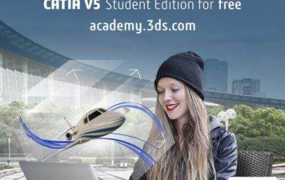 Phần mềm catia v5 bản quyền miễn phí dành cho sinh viên
