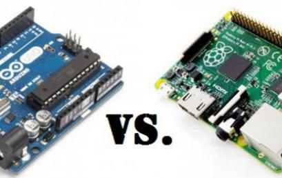 Sự khác nhau giữa Arduino và Raspberry