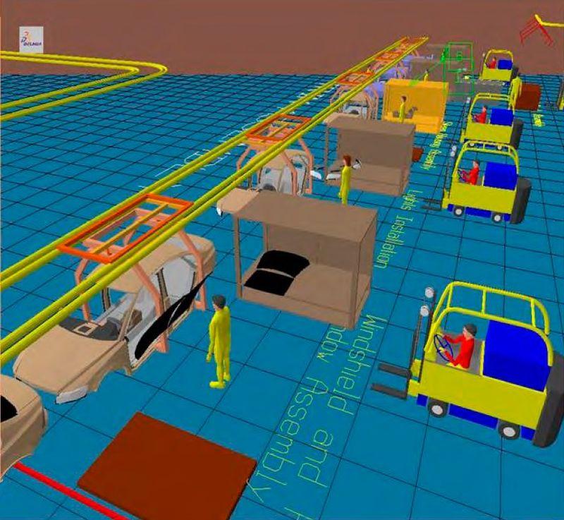 Tích hợp máy tính trong sản xuất CIM (Computer-integrated manufacturing)