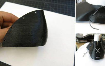 Tạo mẫu giày dép hoàn thiện với sự hỗ trợ của in3D
