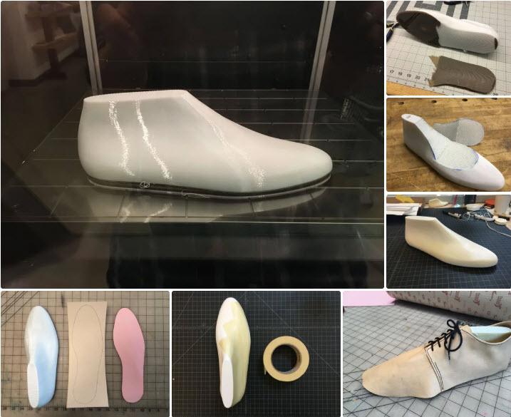 Ứng dụng in3d trong sản xuất Phom giày dép