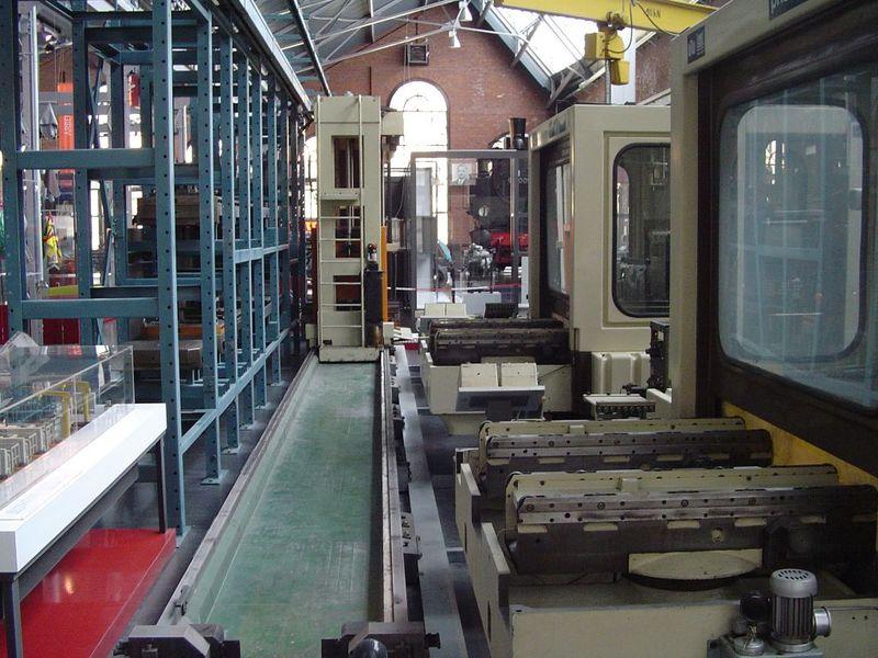 Hệ thống sản xuất linh hoạt FMS-Flexible manufacturing system