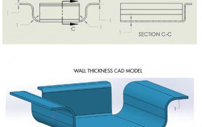 Những kinh nghiệm khi thiết kế kim loại tấm trên phần mềm 3D