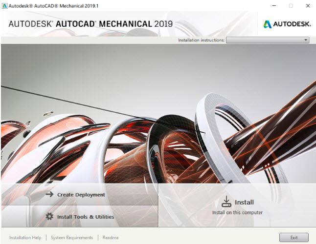 Link tải phần mềm Autocad mới nhất Autocad Mechanical 2019