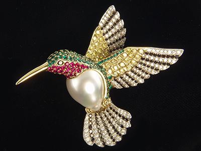 Các loại hình nghệ thuật đính đá khi thiết kế nữ trang