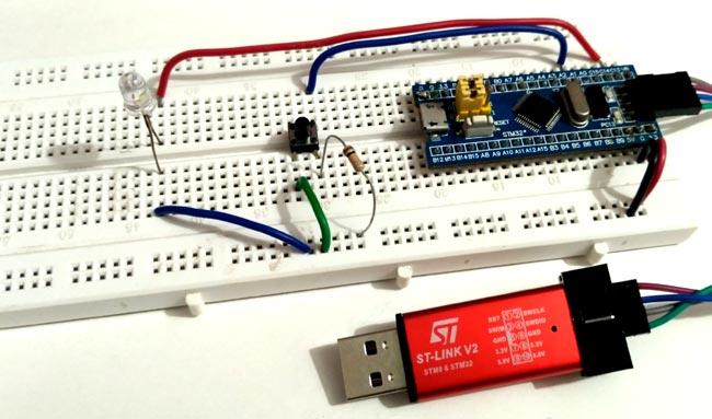 Lập trình STM32F103C8 bằng Keil uVision & STM32CubeMX