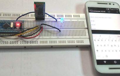 Kết nối Bluetooth HC-05 với STM32F103C8 Blue Pill: Điều khiển LED