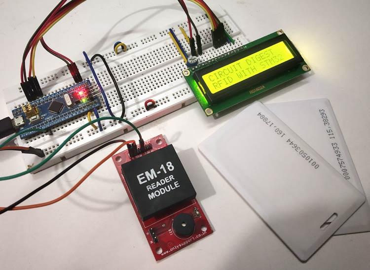 Cách kết nối RFID với vi điều khiển STM32