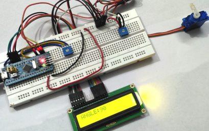 Điều khiển động cơ Servo bằng STM32F103C8