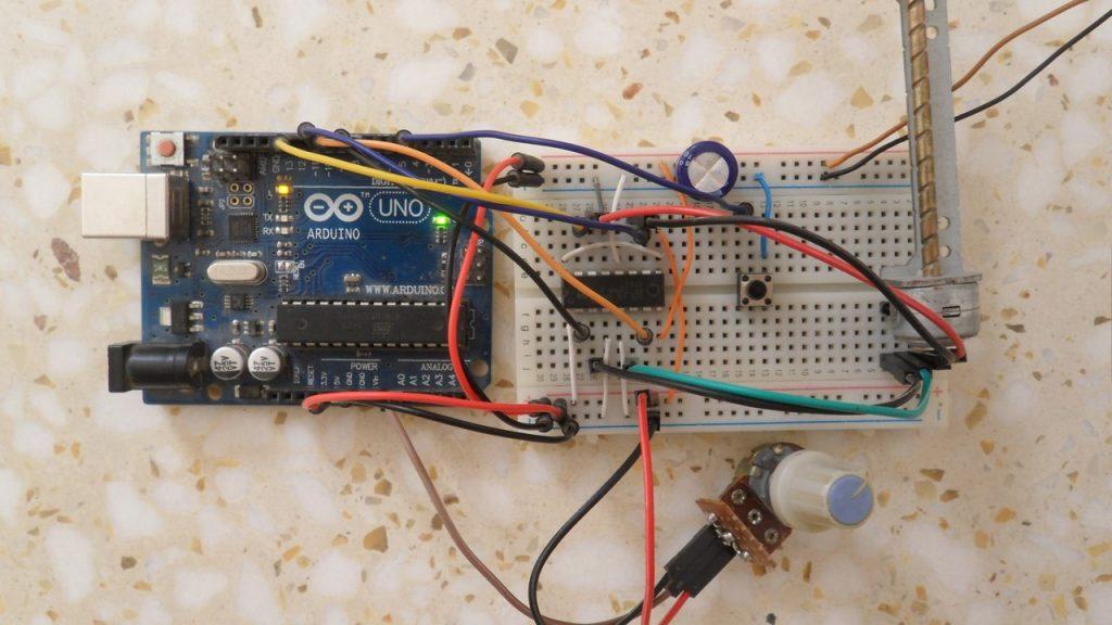 Điều khiển động cơ bước lưỡng cực bằng Arduino