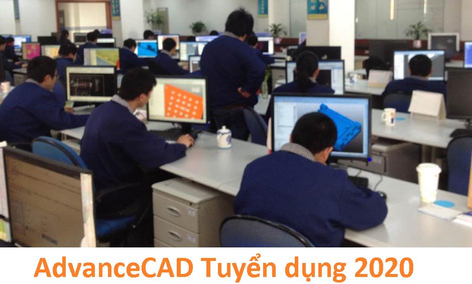 AdvanceCAD tuyển dụng 2020 ( thiết kế, gia công, tự động, đào tạo, tư vấn, marketing, dịch thuật)