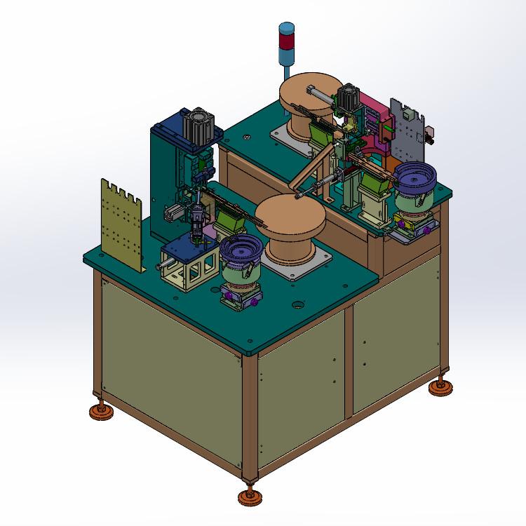Tặng file 3D hệ thống lắp ráp tự động